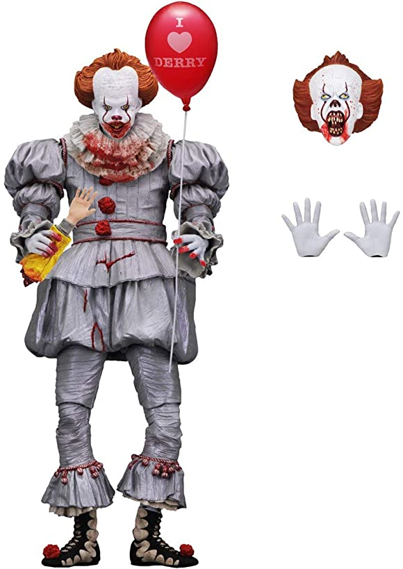 NECA T Ultimate Bloody Pennywise 7 inch Figure - SDCC 2018 GameStop Exlusive