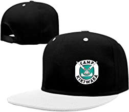 BFBJFG Camp Kikiwaka Baseball Cap Classic Fashion Contrast Hip Hop Baseball Hats for Women Men White