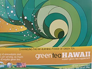 Green Tea Hawaii - Various Flavor Combinations 60 Packets (Pineapple Strawberry, POG, Pomegranate Mango) with Noni and Stevia in Great Tasting Flavors