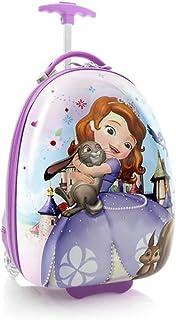 Disney Princess Sofia 子供のための18インチの卵形の荷物[パープル]