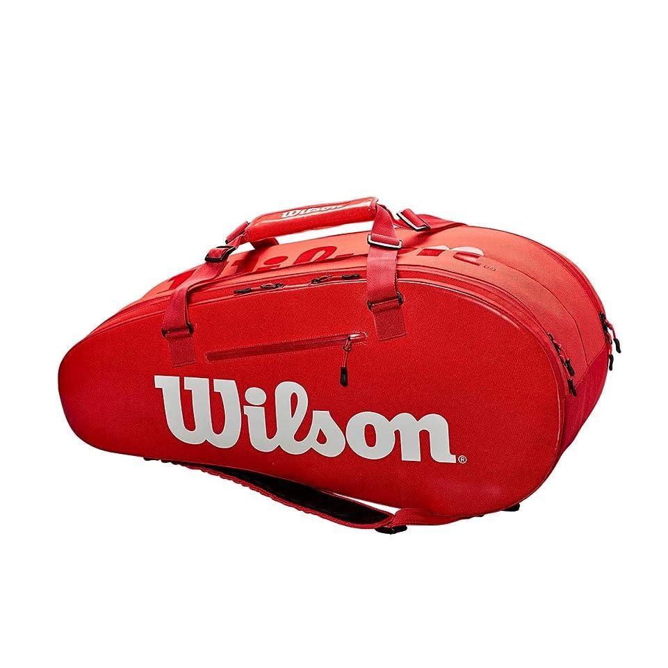 気分私の先住民Wilson(ウイルソン) テニス バッグ バドミントン ラケットバッグ SUPER TOUR 2 COMP LARGE(スーパーツアー2 コンプ ラージ) ラケット9本収納可能