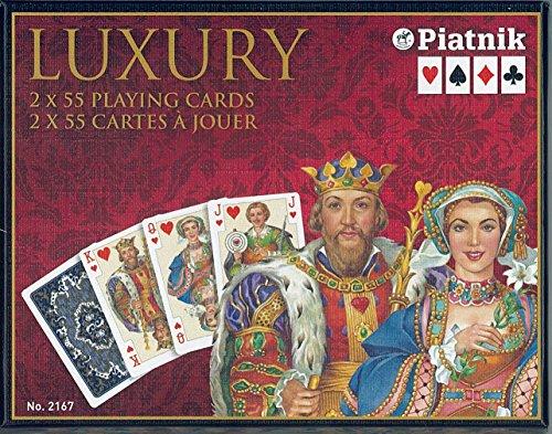 Piatnik Kartenspiele, Romme, Luxury