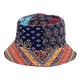BYOS Fashion Cotton Unisex Summer Printed Bucket Sun Hat Cap, Various...