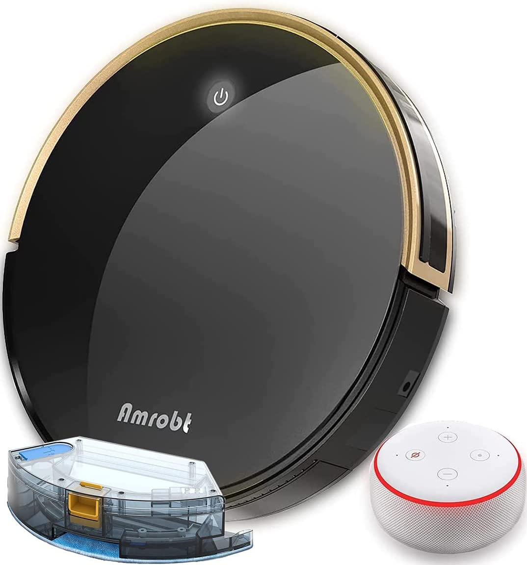 New sales Robot Vacuum and Mop Amrobt Robotic Challenge the lowest price X9 Mopping Sweeping Smart