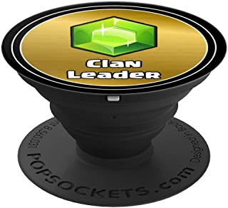 Clan Leader Gifts for Royale Gamers - PopSockets Grip and Stand for Phones and Tablets