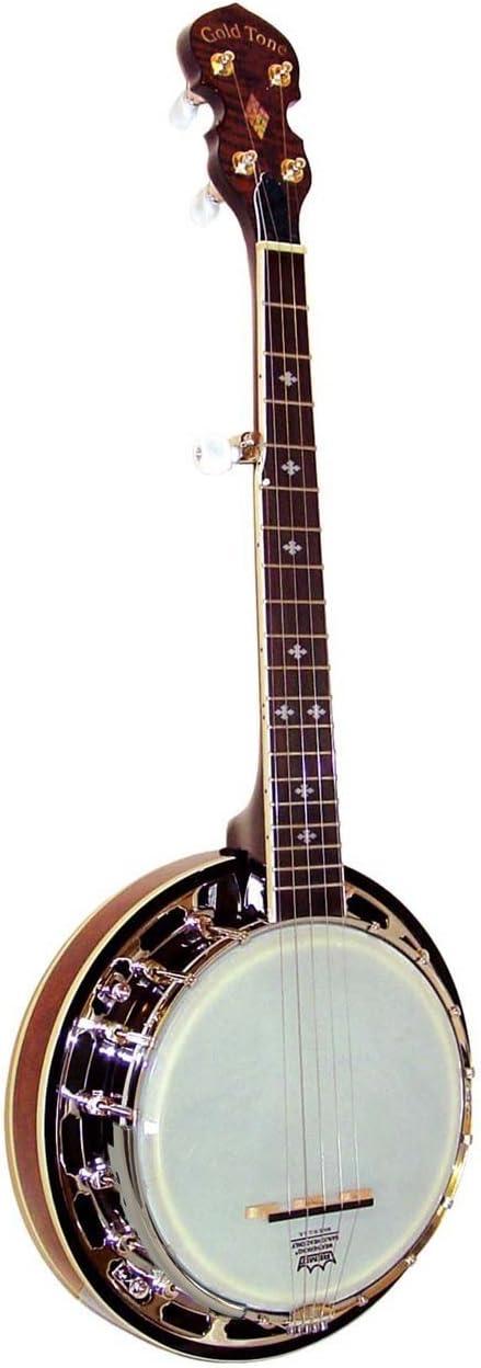 Fashionable Gold Tone Children's Mini online shop Hard Banjo w Case