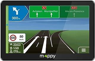 Navegador GPS con mapas de Europa 16:9 Mappy ULTI E528