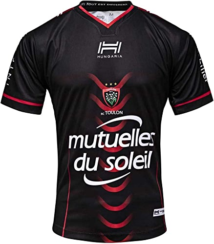 HUNGARIA Maillot Rugby Rugby Club Toulonnais - Réplica Domicile 2018 2019 Adulte