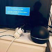 One For All SV9494, Antena de TV para Interior Amplificada, Recibe TDT en un Rango de 25km, Antena HDTV Digital con diseño Innovador, Incluye Cable ...
