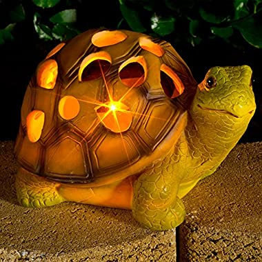 Turtle Solar Garden Light