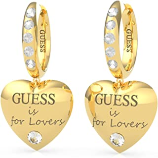 "Pendientes corazón Guess Jewellery ""Guess is for lovers"" con Swarovski"