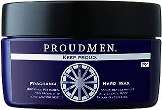 プラウドメン フレグランスハードワックス 60g (グルーミング・シトラスの香り) 整髪料 スタイリング剤 ヘアワックス メンズ 男性