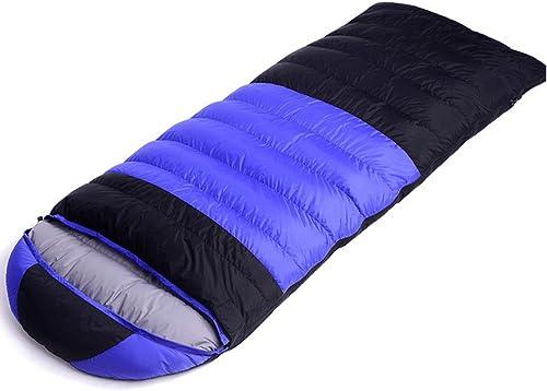 Xin.S Portable Sac De Couchage à Capuche Avec Sac De Compression Léger Imperméable à L'eau Camping Voyage Ou Extérieur