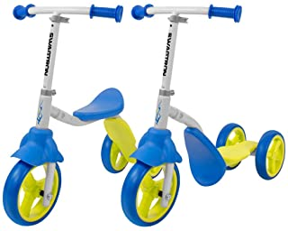 Swagtron K2 Toddler 3 Wheel Scooter & Ride-On Balance Trike 2-in-1 Adjustable for 2,..