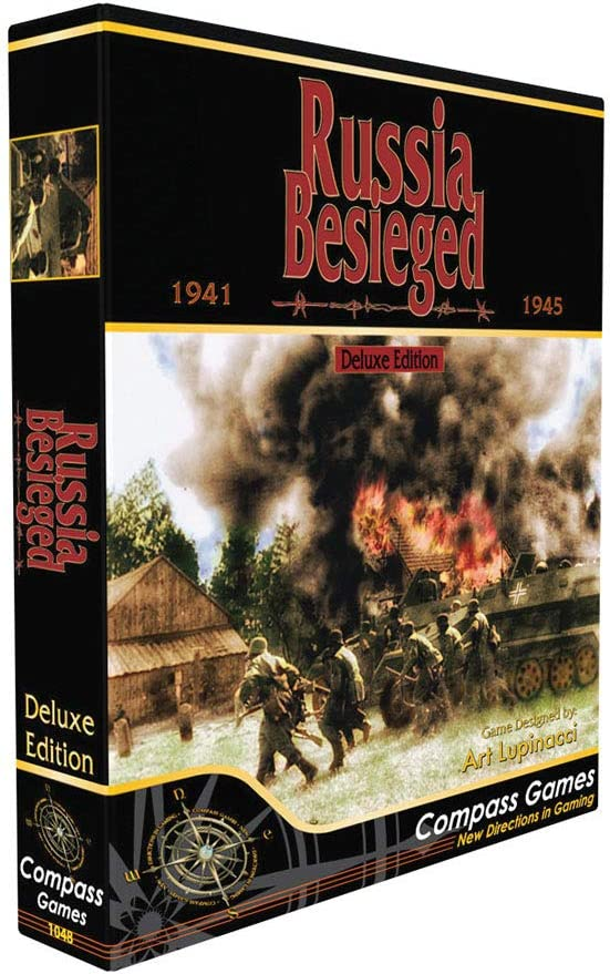 Compass Games Russia Besieged: Free Shipping New Eastern Front World 2 War Delux Oklahoma City Mall -