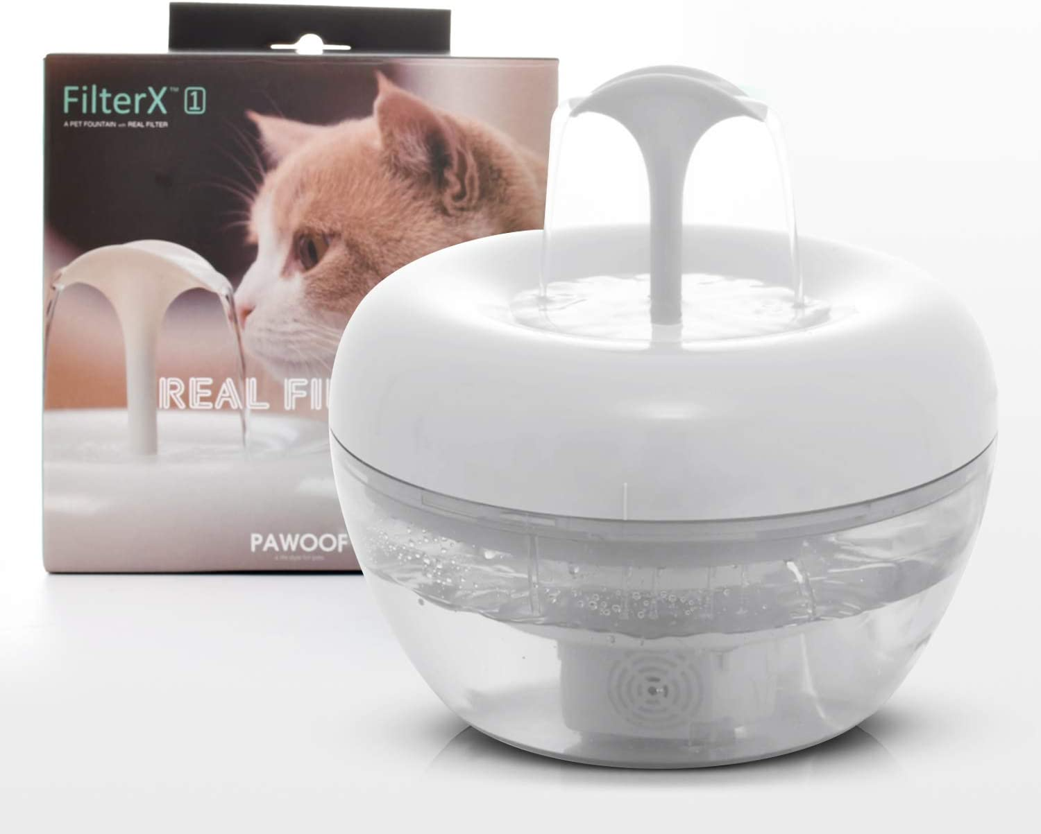 Petpo Cat Water Fountain 51oz 1.5L Quiet Automatic Direct Selling rankings sale of manufacturer Ultra Wa Pet