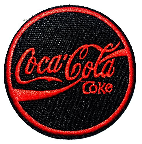 Enjoy Coca Cola Coke Soft Drink logo patch Jacket T-shirt Sew Iron on Patch Badge Embroidery