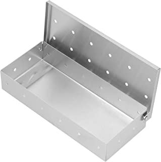 GRILL Palar Box Grill ze Stali Nierdzewnej Chip Wood Grill Box Bekon Grill Box do Wewnątrz Outdoor Grillowanie Akcesoria N...