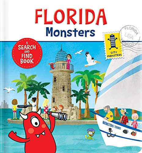 Florida Monsters: A Search and Find Book