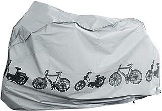 Abdeckplane Schutzhülle Simson Moped Garage Fahrradabdeckung 210x110x80 Grau mit Klickverschluss und Kordelzug