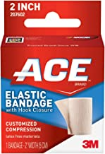 ACE Elastic Bandage with Hook Closure, 2 Inches Width (Pack of 2)