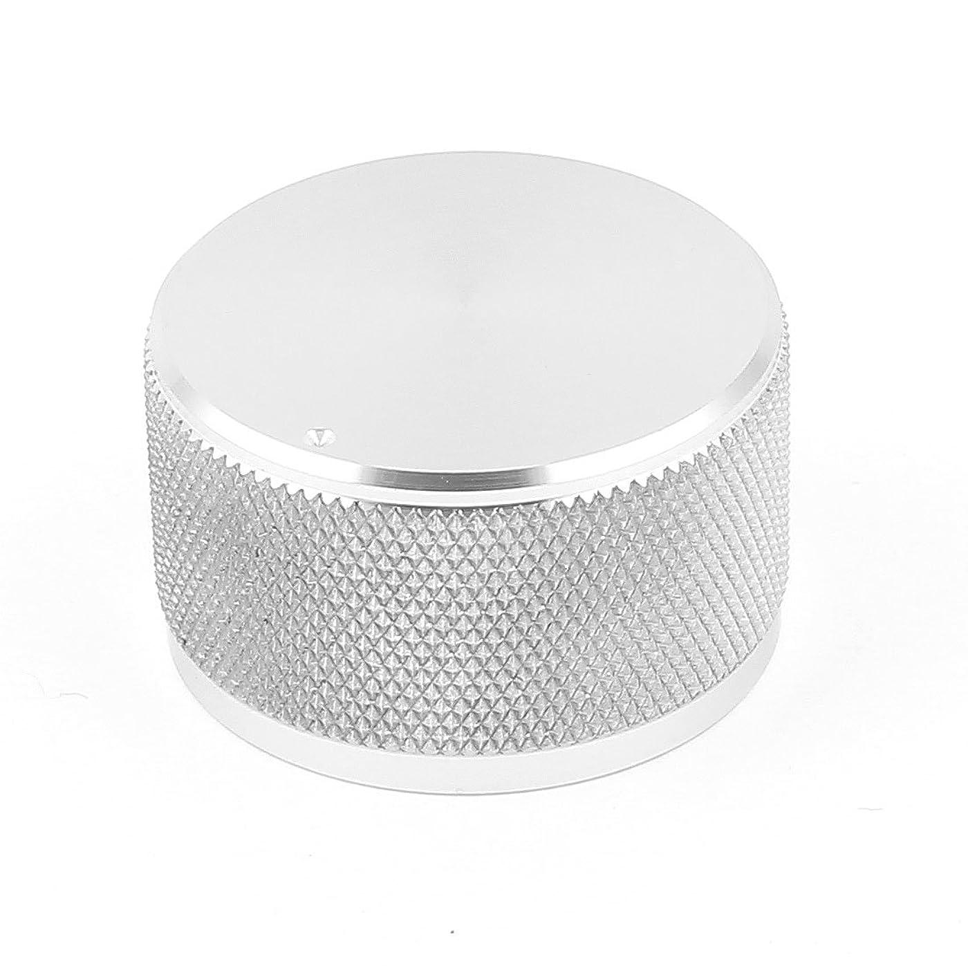 合わせてお願いします安定しましたuxcell ジオのボリュームノブ HIFIアルミスピーカー CNC加工ソリッド 38x22mm シルバートーン