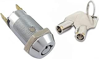 tubular key lock switches