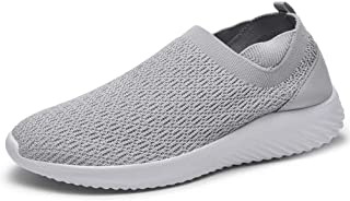 LANCROP Women's Slip on Sneakers - Casual Comfortable Nurse Tennis Shoes