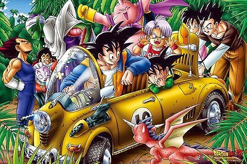 Magische Puzzle Stück Dragon Ball Z 1000 Stück Dschungel-Laufwerk 1000 MG02 (Japan Import   Das Paket und das Handbuch werden in Japanisch)