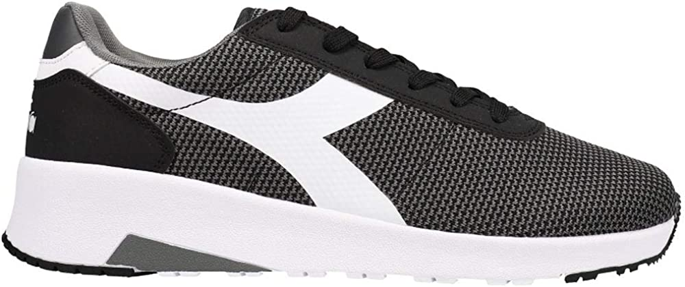 Diadora Mens Evo Run Dd Lace Sneakers Cheap mail order specialty store Black specialty shop Shoes Up -