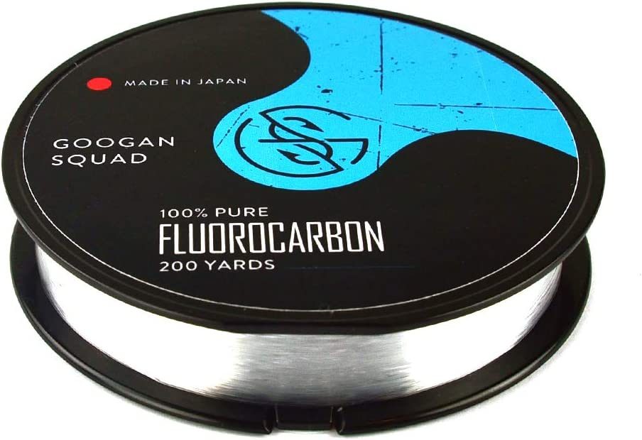 Catch In a popularity Co Googan Squad 100% Fishing Fluorocarbon Pure Fluoro Now free shipping Li