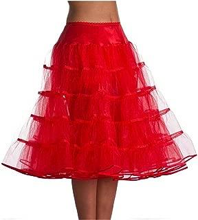 plus size tea length petticoat