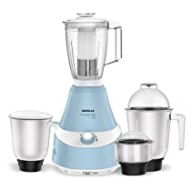 Havells Energeia 600 Watt Mixer Grinder with 4 Jar (Blue)