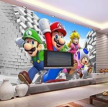 Aangepaste Grote Foto Behang Super Mario Muurschildering Klassieke Games Behang Kamer Decor Muur Art Slaapkamer Hal Achter...
