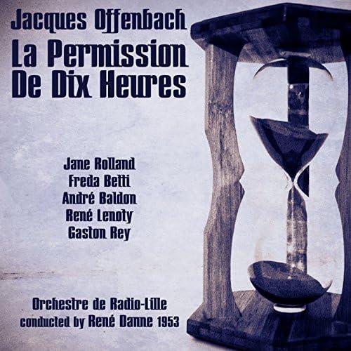 Jane Rolland, Freda Betti, André Baldon, René Lenoty & Gaston Rey