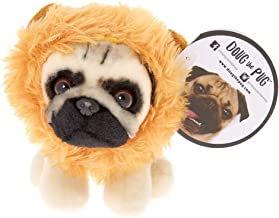 Claire's Doug The Pug Girl's Doug The Pug Small Lion Plush Toy - Cream