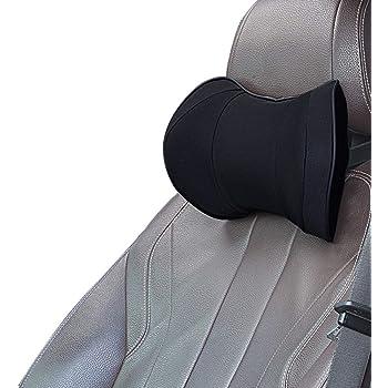 EASY EAGLE Kopfst/ütze Auto mit Montage des Teleskopverschlusses Passt Sitzerh/öhung Kinder Schwarz Seitliches Kopfst/ützkissen aus Netzgewebe f/ür Erwachsene