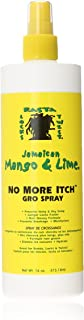 (Pack of 4) - Jamaican Mango & Lime No More Itch Gro Spray, 470ml Pack of 4