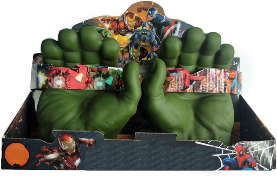 Weihnachten Halloween Spielzeug BSTQC Hulk Cosplay-Handschuhe aus PVC f/ür Kinder Kinderkost/üm