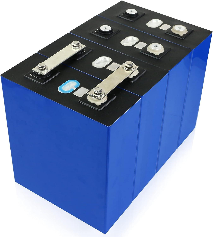LONGRING Nuevo 4pcs 3.2v 200ah Lifepo4 BaterÍa DIY 12v 24v 36v No 200ah para El Sistema De Almacenamiento De EnergÍa Solar Electrico para El Coch Electrico El RV Puede Hacer Baterías De Barco
