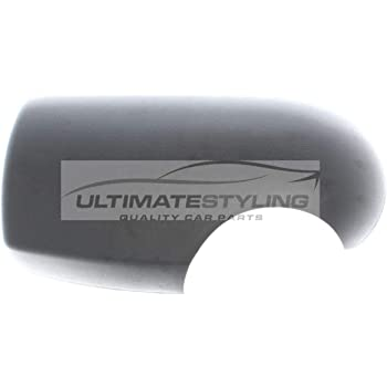 Left Hand Side Textured For Passenger Side Ultimate Styling Aftermarket Replacement Wing Mirror Cover Cap Colour Of Cover Black LH