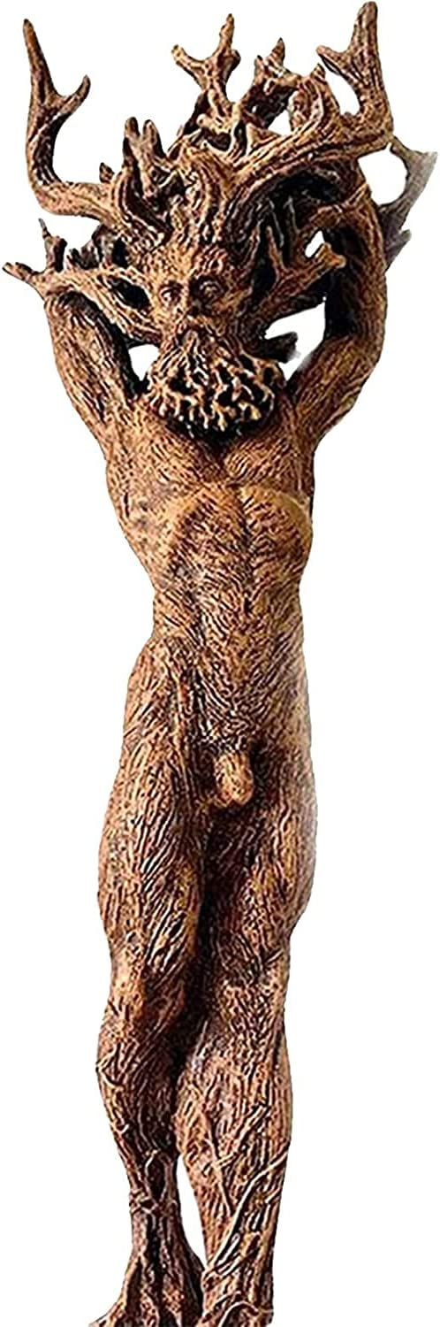 Forest Goddess Statue Max 56% OFF Resin Ornaments God Green Tree Man Outlet sale feature