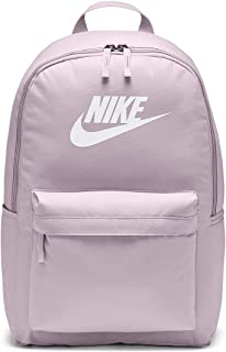 Nike Unisex's Heritage 2.0 Backpack, Iced Lilac/Iced Lilac/White, One Size