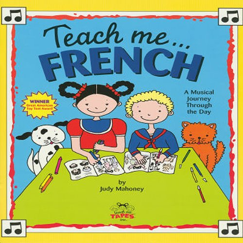 Teach Me French audiobook cover art