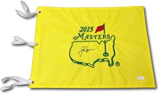 Jack Nicklaus Autographed Signed Authentic 2015 Masters Pin Flag JSA
