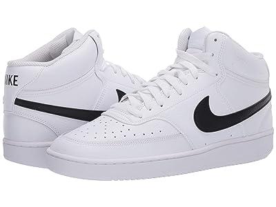 Nike Court Vision Mid (White/Black/White) Men