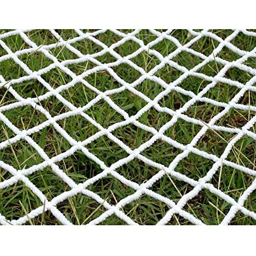 HJBhjb Nylonseil-Zaun-Netz Schutznetz, Treppensicherheitsnetz for Garten Patios Spielplätze Dekorative Ineinander greifen Balkon Treppenschutznetz Innen Außen (Size : 1x1m(3x3ft))
