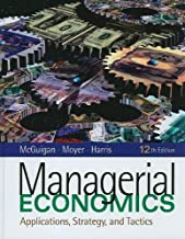 By James R. McGuigan Managerial Economics (Book Only) (12th Twelfth Edition) [Hardcover]
