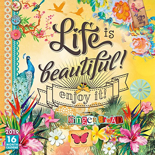 2019 Life is Beautiful 16-Month Wall Calendar: by Sellers Publishing, 12x12 (CA-0431)