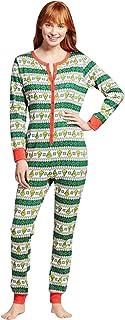 Pijamas Familiares Navideñas Pijama Navidad Familia Mono Navideños Mujer Niños Niña Hombre Pijama Entero Una Pieza Trajes para Navidad Pijamas a Juego Manga Larga Chicas Chico Homewear Invierno